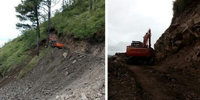 Pembukaan Badan Jalan Lanjutan Pra Tmmd Ke 97 Kodim 0207/Simalungun