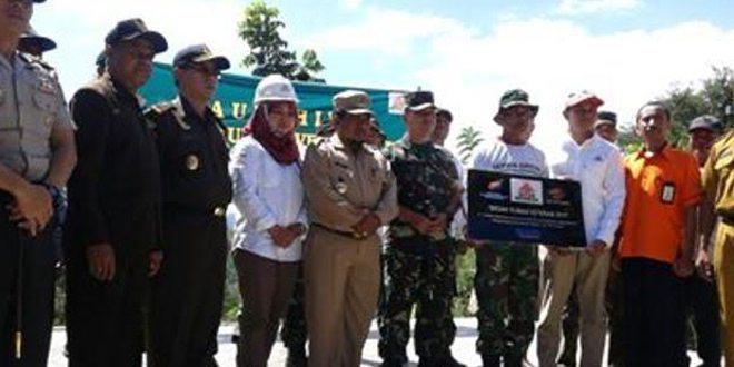 Kodim 1618/TTU : Launching Bedah Rumah Veteran