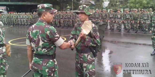 Demi Kesejahteraan Rakyat Korem 151/Binaiya Laksanakan Operasi Teritorial