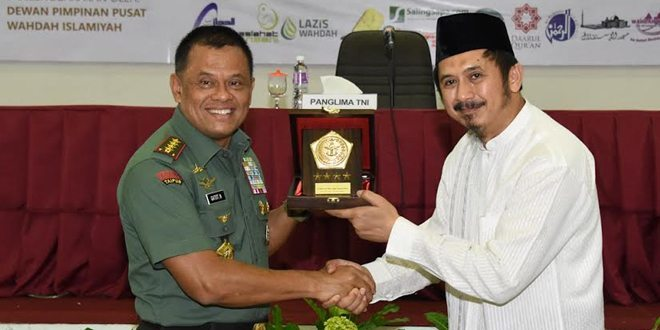 Panglima TNI : Kemanunggalan TNI, Ulama dan Santri Merupakan Kekuatan Bangsa