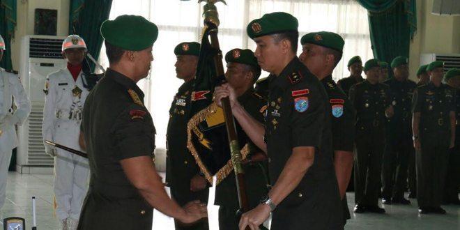 Pangdam Pimpin Serah Terima Jabatan dan Tradisi Satuan Kodam XII/Tpr