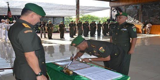 Jabatan Komandan Kodim 1710/Mimika Diserahterimakan