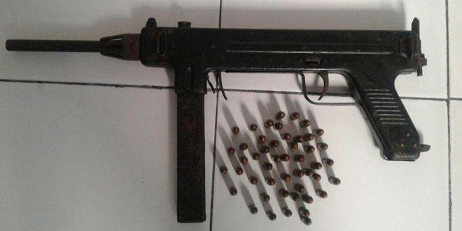 Satgas Pam Rahwan Yonif 731/Kabaresi Berhasil Mendapatkan Satu Pucuk Senjata