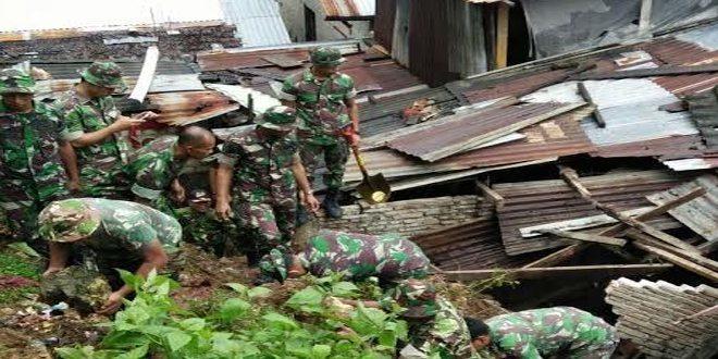 Korem 151/ Binaiya Siaga Banjir
