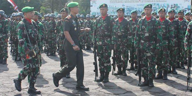 Komandan Rindam V/Brw Buka Diktuk Secaba Babinsa 2016