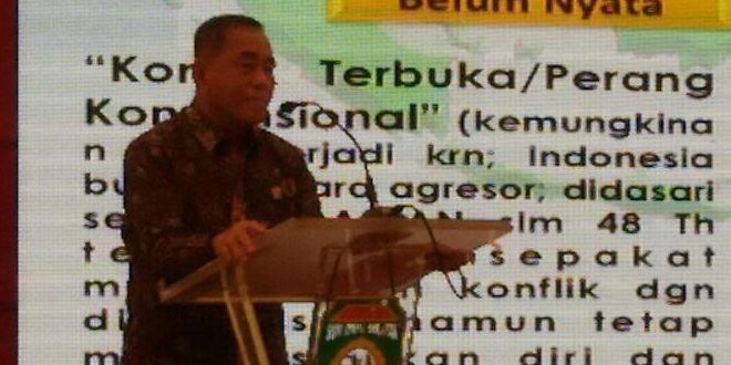 Menhan RI Buka Diklat Pembentukan Kader Pembina Bela Negara Di Jakabaring Sport City (JSC) Palembang