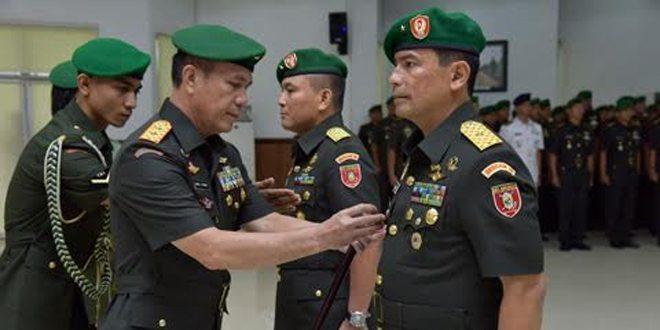 Brigjen TNI Santos Gunawan Matondang, S.IP., MM., M. TR., (HAN) Menjabat Kasdam VI/Mulawarman