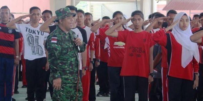 Perwira ILO TNI Sampaikan Materi Kesadaran Berbangsa dan Bernegara Dalam MOPDB Di SIKK