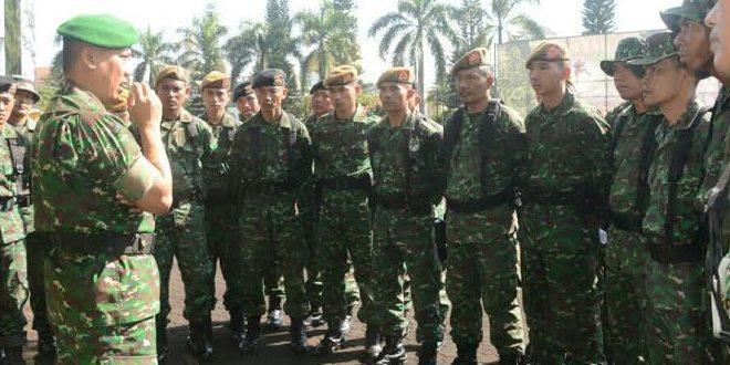 Kodam III/Slw Siagakan Personil Untuk Penertiban KPAD Gerlong