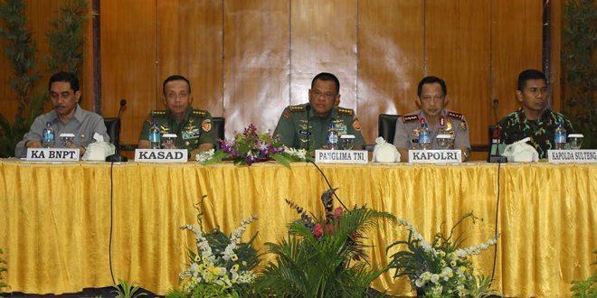 Keberhasilan Operasi Tinombala Bukti Solidnya TNI Polri