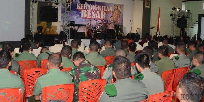 Kebaktian Kebangunan Rohani di Kodam XVI/Pattimura