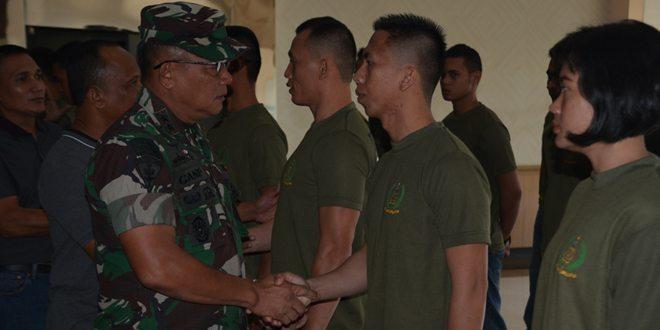 Lepas Kontingen Yong Moodo, Pangdivif 2 Kostrad Tunggu Medali Atlet Divisi Infanteri 2 Kostrad