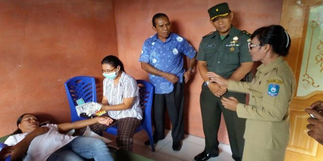 Korem dan BKKBN Prov Malut pantau pelaksanaan KB-Kes