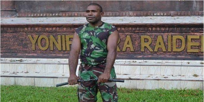 Serda Maykel Korwa Master Double Stick dari Yonif Para Raider 502 Kostrad