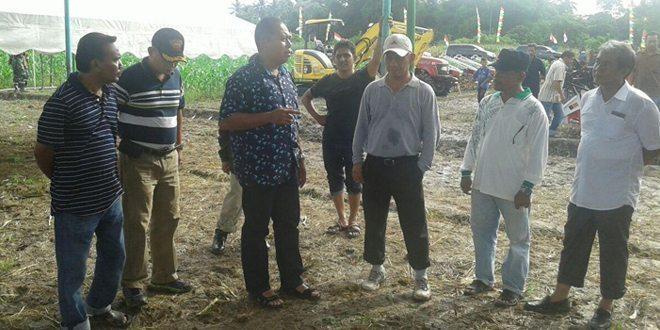 Danrem 011/Lilawangsa Meninjau Persiapan Panen Jagung Seluas 500 hektar