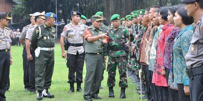 Danrem 072/Pamungkas Membuka Langsung Gelar Pasukan PAM VVIP RI I