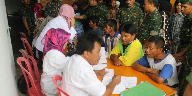Kodim 0311/Pessel Gelar Pencanangan Program Bhakti TNI KB Kes TA. 2016.