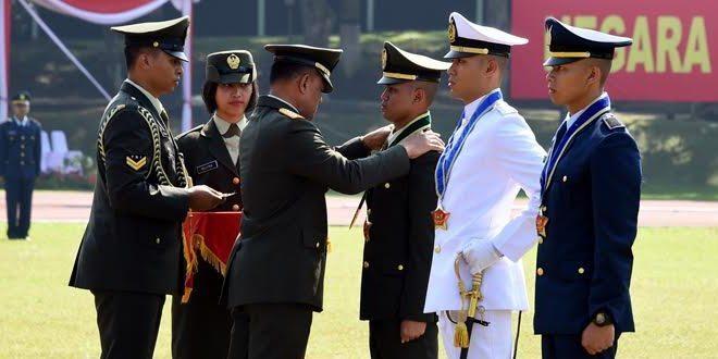 Panglima TNI Lantik 171 Perwira Prajurit Karier TNI