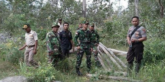 TNI, Polisi, Dinas Karantina Dan Bea Cukai Patroli Bersama