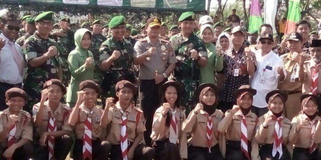 Danrem 052 Wijayakrama Pimpin Karya Bakti TA.2016 diwilayah Kodim 0506 Tangerang