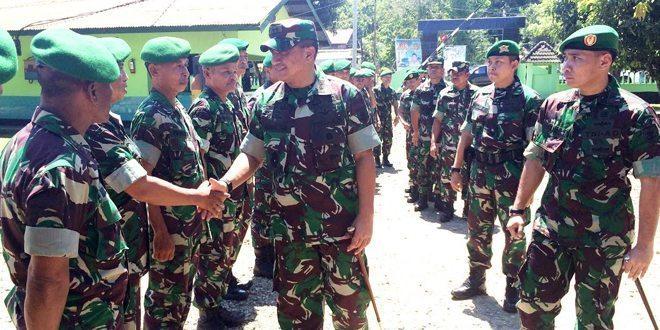 Kunjungan Kerja Pangdam VII/Wrb Ke Wilayah Kodim 1402/Polmas