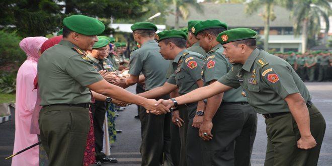 Kodiklat TNI AD Selenggarakan Acara Halal Bihalal