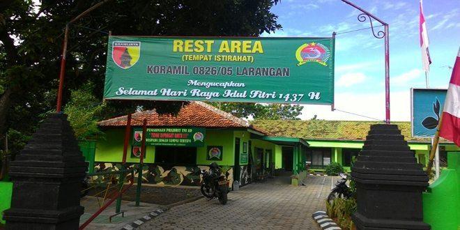 Kodim 0826/Pamekasan Siapkan Rest Area