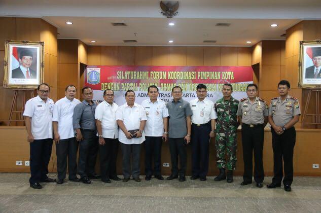 Kodim 0502 Jakarta Utara Tingkatkan Sinergitas Bersama Forkopimko