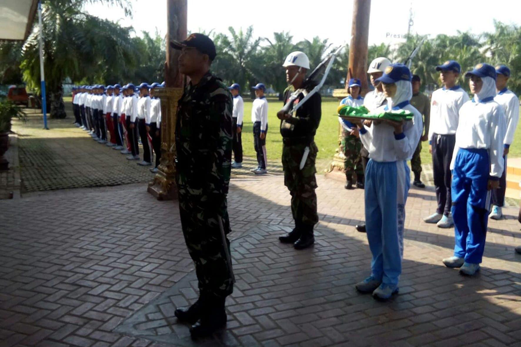 Latihan Paskibraka Di Aloen-Aloen Kota Madiun 4