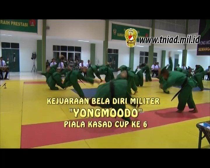 TNI AD ADAKAN KEJUARAAN YONGMOODO PIALA KASAD CUP KE 6