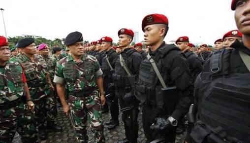 Prajurit TNI Siap Amankan Hari Raya Idul Fitri 1437 H