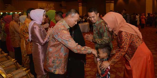 Halal Bihalal Keluarga Besar Prajurit Angkatan Darat Gartap 1/Jakarta Bersama Kasad