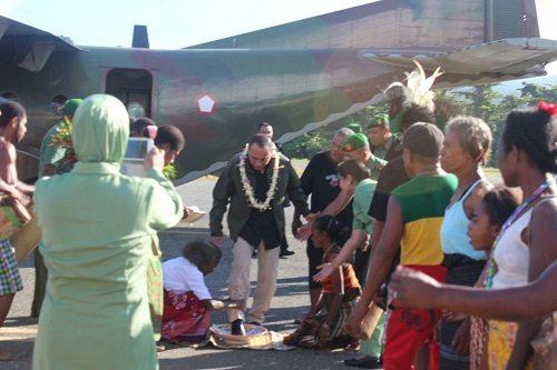 Pangkostrad datangi Kabupaten Kepulauan Yapen