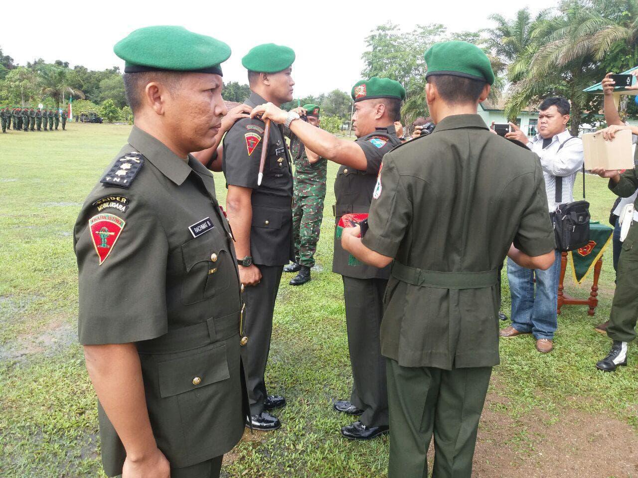 Mayor Inf Faisal Amri Resmi Jabat Danyonif 642/Kapuas