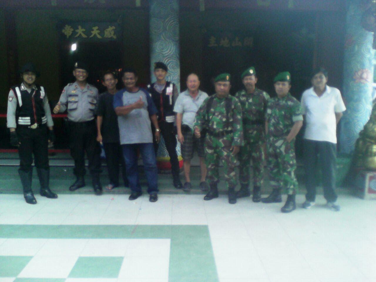Kodim 1207/BS Lakukan Patroli Gabungan