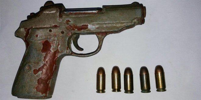 Satgas Armed 12 Kostrad Memperoleh 2 pucuk senjata dan 5 butir Peluru