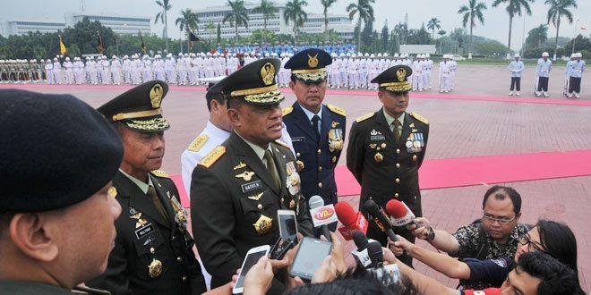 Prajurit TNI Satgas Tinombala terima Kenaikan Pangkat Luar Biasa
