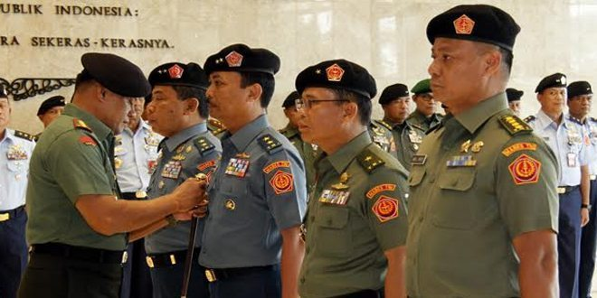 Panglima TNI : Interoperabilitas Faktor Penentu Membangun Postur TNI yang Profesional