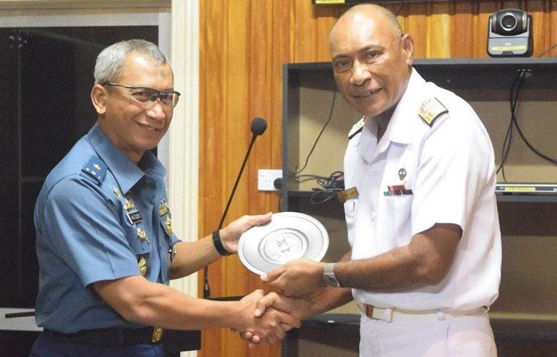 Satgas Kizi TNI terima Apresiasi dari Panglima Militer Fiji