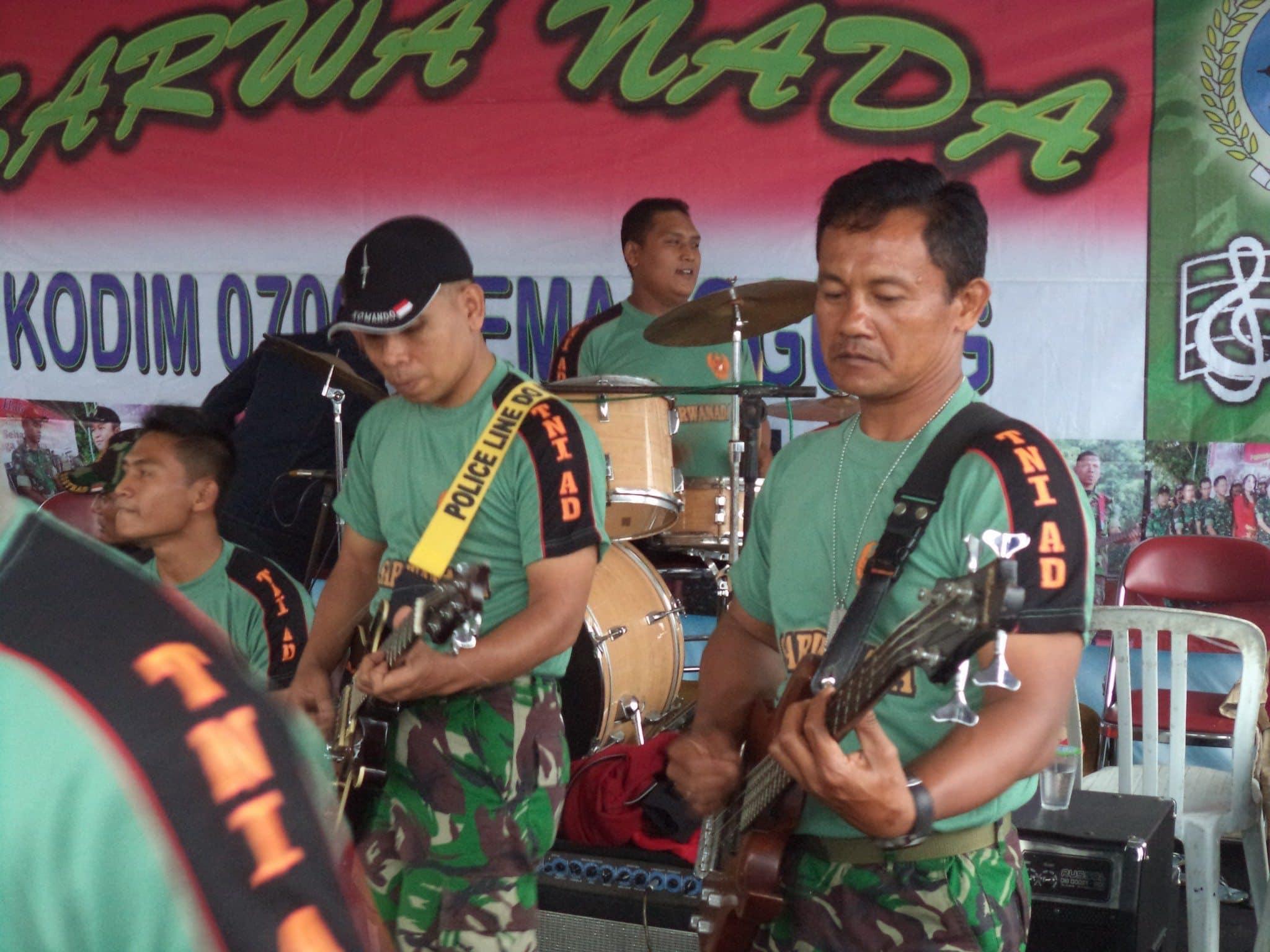 Panggung Sarwanada Dim 0706/Tmg Jadikan Media Komsos Kreatif Koramil 05/Candiroto