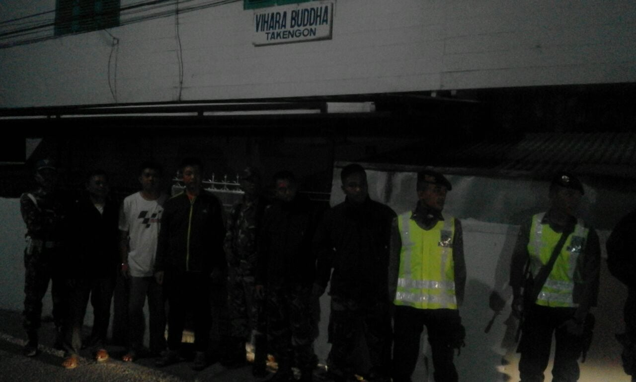 Kodim 0106 dan Polres Ateng Patroli Bersama