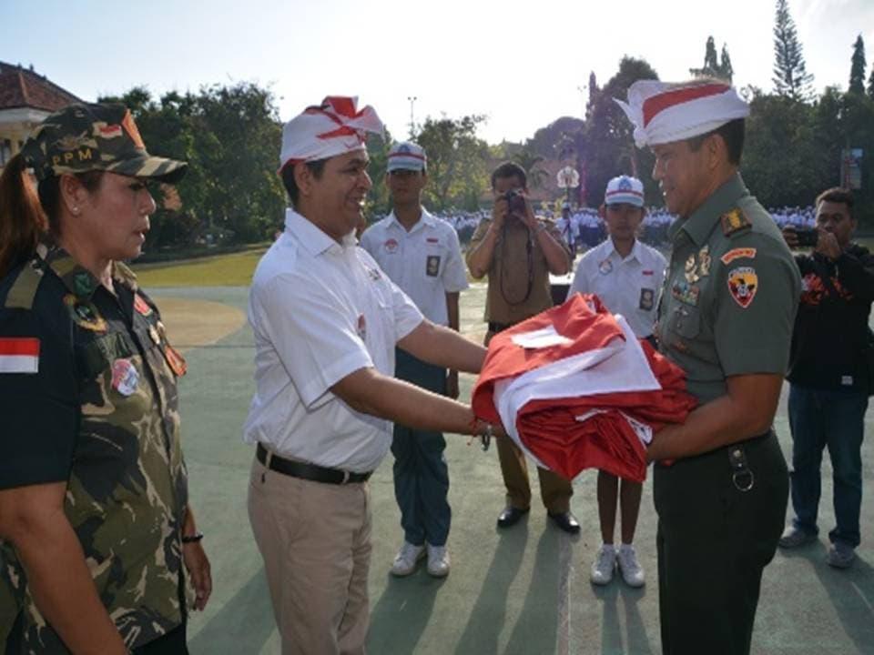 Gema Merah Putih Bali Nusra Bangkitkan Semangat Nasionalisme Dan Cinta Tanah Air Generasi Muda