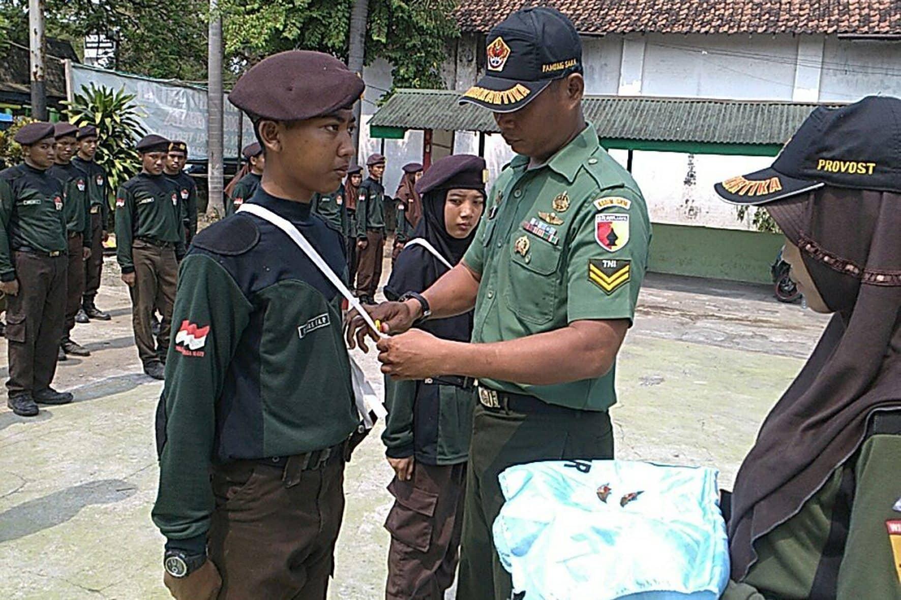 Upacara Penutupan Latihan Diklat II Saka Wira Kartika Angkatan VI Dalam Penempuhan Wings Saka Wira Kartika 2
