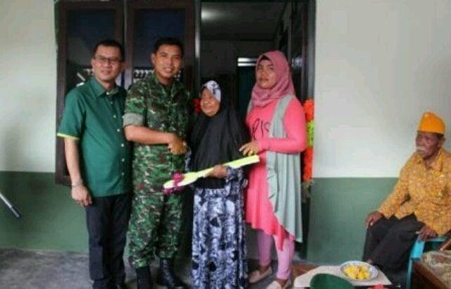 Kodim 0312/Padang Rehab Rumah Veteran
