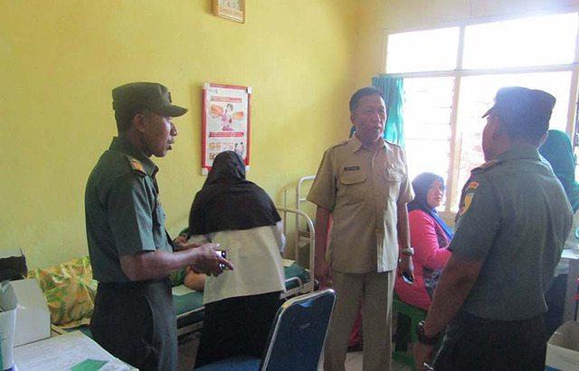 TNI Dukung Program Pemerintah, Gelar Pelayanan KB Kesehatan