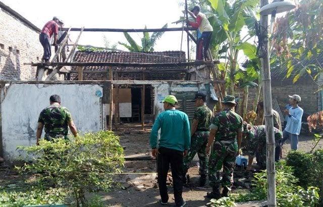 TNI Peduli Rakyat, Rehab Rumah Rusak Berat