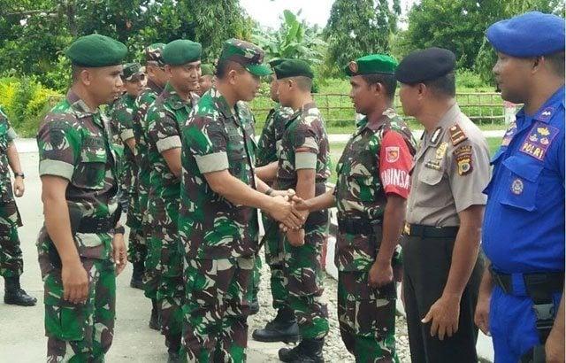 Panglima Divif 2 Kostrad Kunjungi Satgas di Maluku