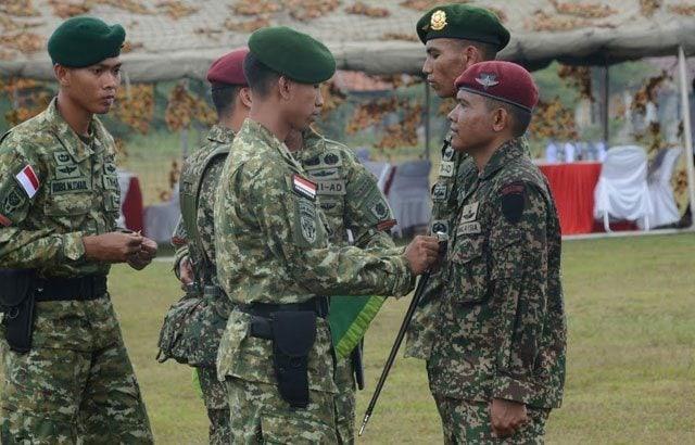 Danyonif Para Raider 328 Kostrad Tutup Latma Linud Malindo