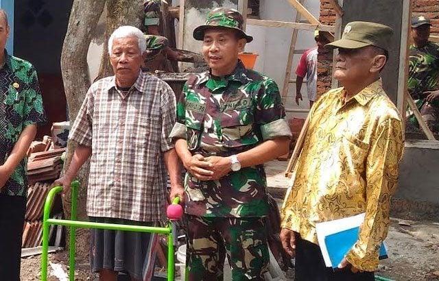 TNI Peduli Veteran, Renovasi Rumah Lamidi