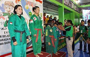 Semifinal Dan Final Eksibisi Yongmoodo PON XIX Jabar Tahun 2016